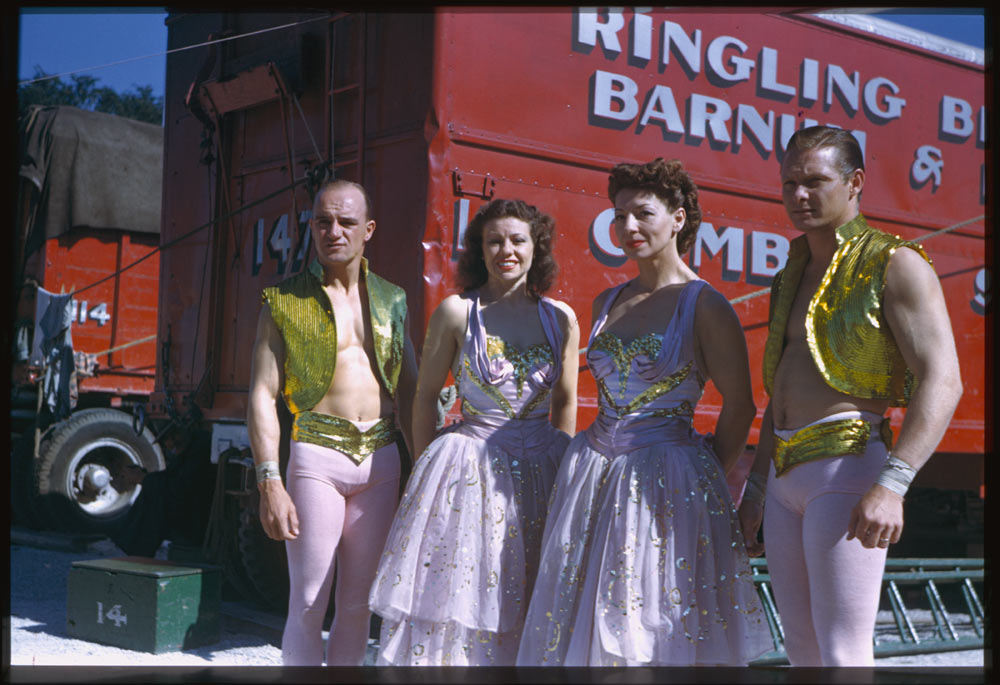Concellos Ringling - B&B - Circus Chicago. (Charles W. Cushman Photograph Collection - Indiana University Archives / Digital Library Program ).