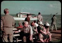 A Sunday crowd at Miami's Fishing Pier