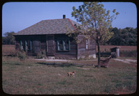 Country home in the coal mine country south of Clinton, Indian