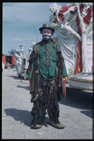 Emmett Kelly Tramp clown of Ringling Circus Chicago