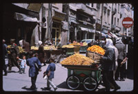 Fruit carts, Damascus