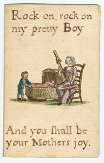Set 17. As John with his rake. Set of 44 unnumbered lesson cards on secular subjects with related colored picture in center of card. Verso, plain. 44 items.: Page 65 of 88